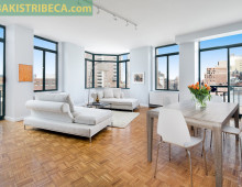 "<strong>311 Greenwich St. #PH    <span style=""color: #449967;"">$2,600,000</span><br><br></strong>"